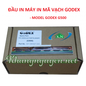Đầu in máy in mã vạch Godex G500