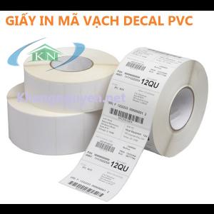 Giấy In Mã Vạch Decal PVC