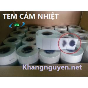 Giấy in tem nhãn Decal nhiệt PVC