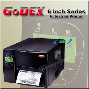 Máy in mã vạch công nghiệp GoDEX Ez 6300 Plus