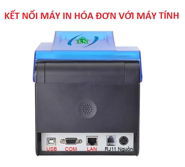 Các cách kết nối máy in hóa đơn với máy tính