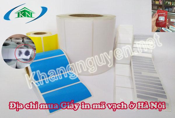 Tổng hợp các loại giấy in tem nhãn mã vạch
