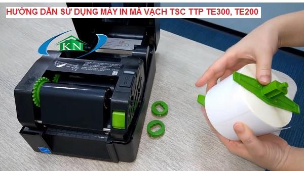 Hướng dẫn sử dụng máy in mã vạch TSC TTP TE300 TE200