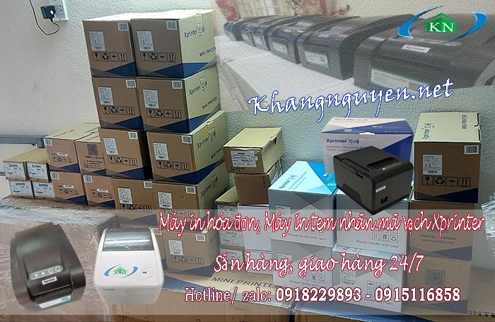 Xprinter- máy in hóa đơn và Máy in đơn hàng TMĐT