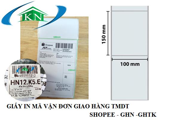 Mua giấy in tem nhãn vận đơn ở Hà Nội